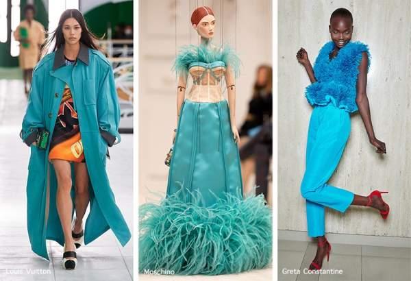 Модный цвет по версии Pantone - Blue Atoll