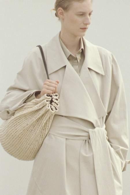 Плетеная сумка-мешок - модный тренд весна 2021