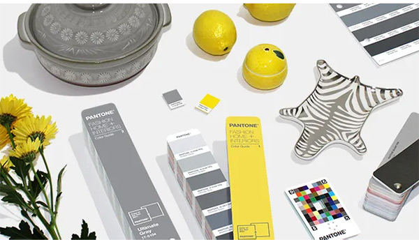 Насыщенный желтый и серый - цвета 2021 года по Pantone