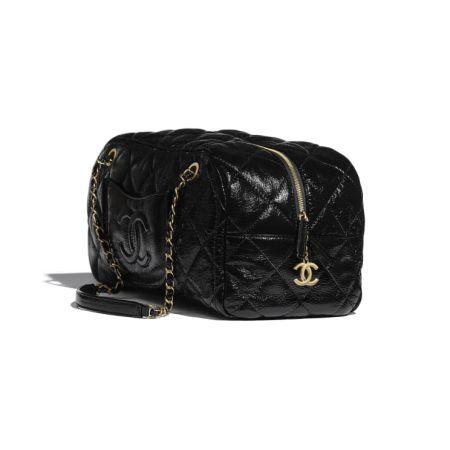 Черная сумка Bowling Bag от Chanel