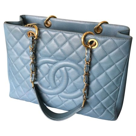 Голубая сумка Grand Shopping Tote от Chanel