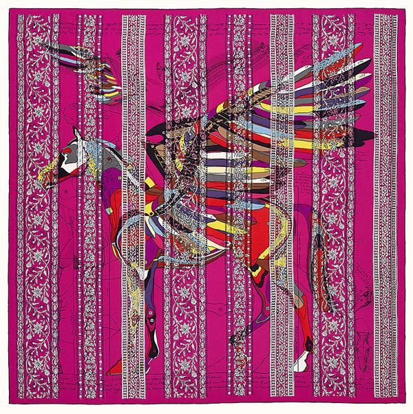 Самый дорогой платок Hermès в онлайн-магазине бренда. Цена - $7 800