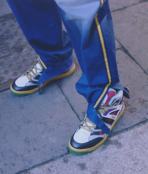 Ретро-кроссовки из коллекции весна-лето 2021 Gucci