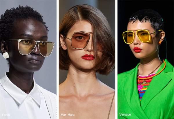Женские очки-авиаторы с тонкой оправой