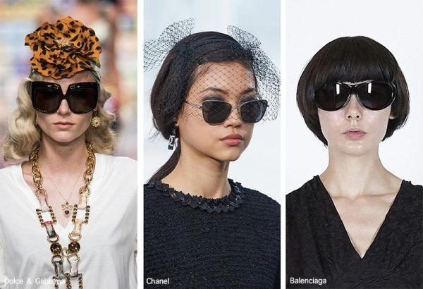 Очки с черными линзами - модные модели весна-лето 2021