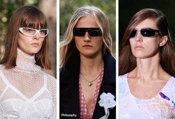 Модные женские очки 2021 - удлиненные модели