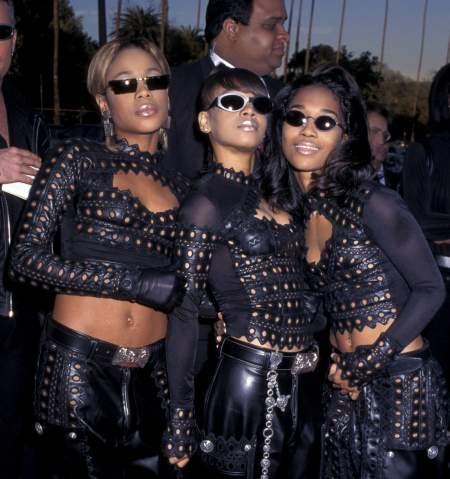 Американская хип-хоп группа TLC