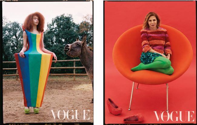 Разноцветные образы от испанского бренда Ágatha Ruiz de la Prada