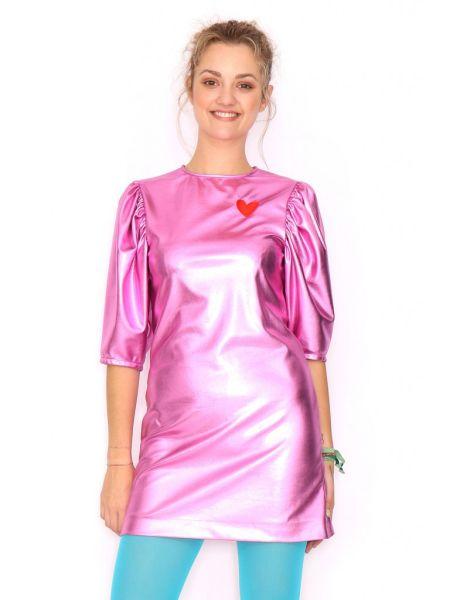 Розовое неоновое платье Ágatha Ruiz de la Prada