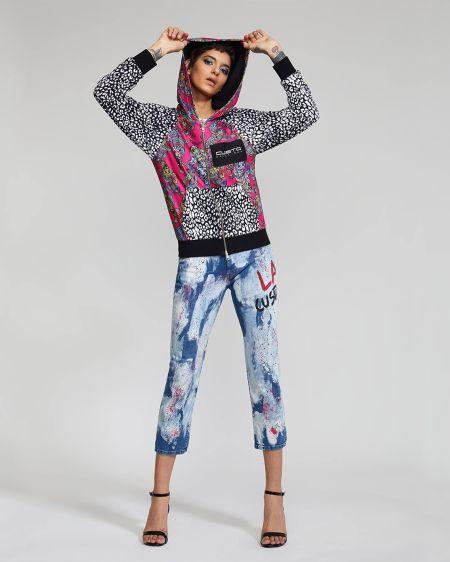 Разноцветные светлые джинсы Custo Barcelona