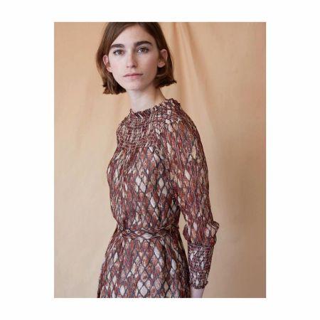 Платье с геометрическим принтом Hoss Intropia