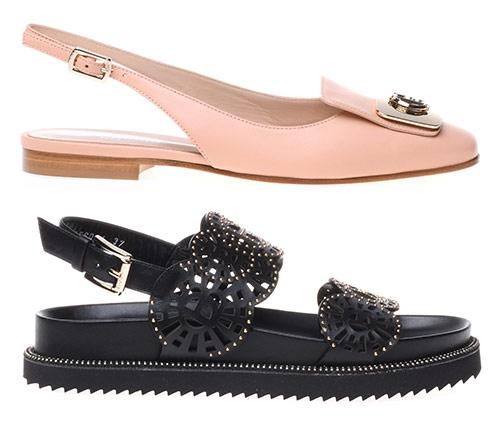 Босоножки и туфли от Балдинини