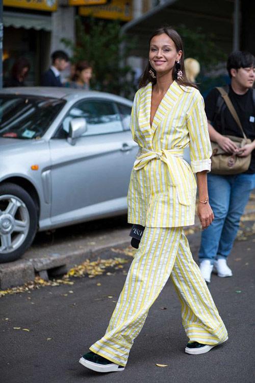 Пижамный стиль в моде этим летом