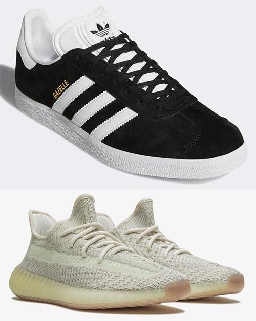 Кроссовки от лейбла Adidas