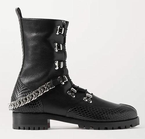 Ботинки женские от лейбла Louboutin. Ценник - £915