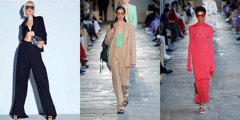 модные очки с цветными линзами 2021