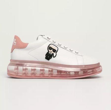 Кроссовки на розовой подошве Karl Lagerfeld