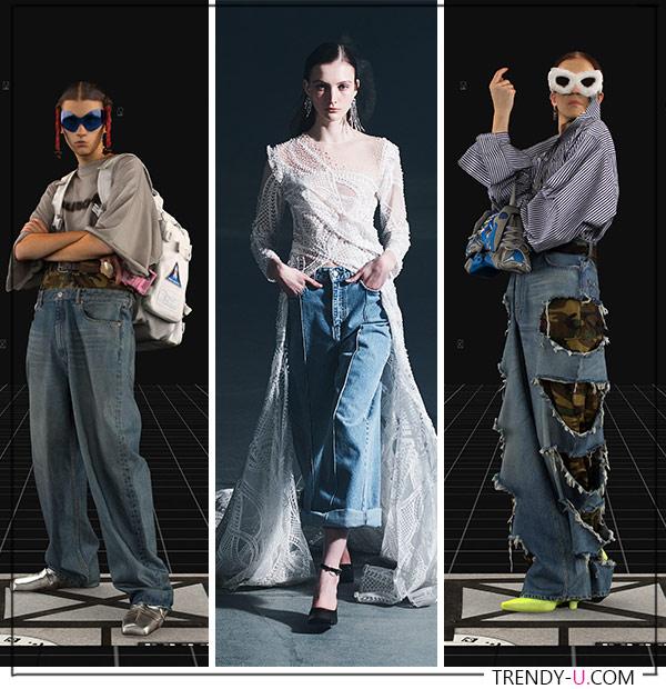 Образы из коллекций Balenciaga и Rokh