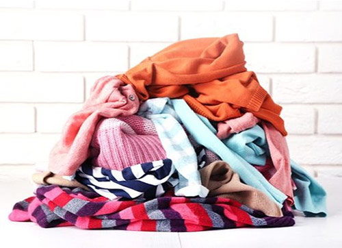 Разбираем гардероб и сортируем вещи