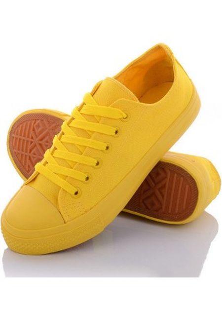 Желтые кеды на сайте интернет-магазина Kasta