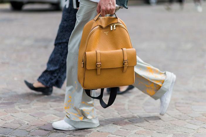 Кожаный рюкзак на каждый день. Купить Украина