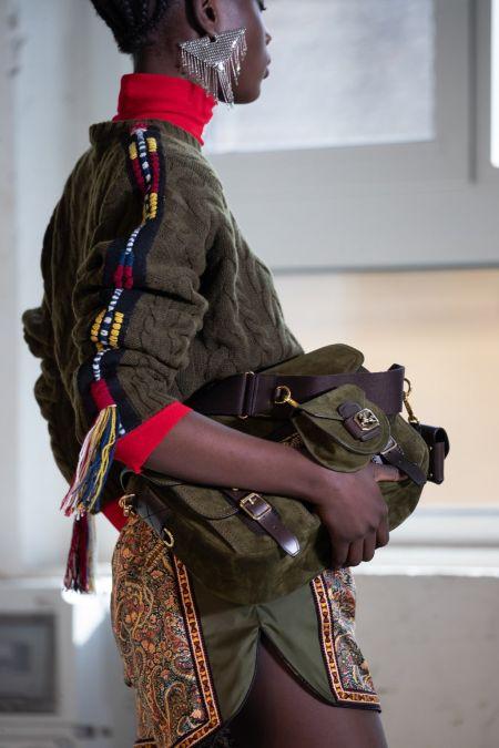 Модные сумки осень 2021 - мессенджер