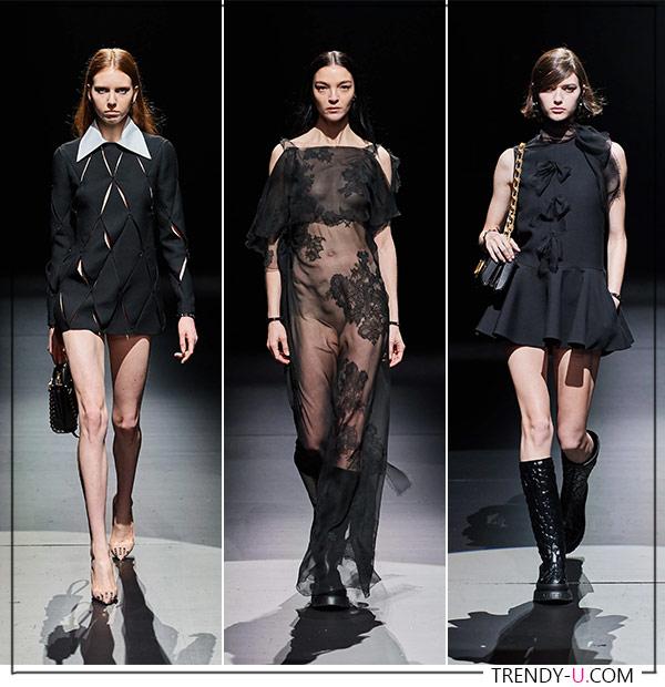 Модные платья Valentino FW 2021