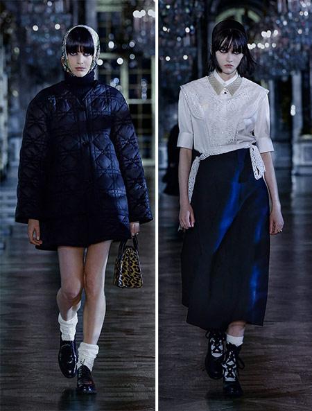 Носки в осенне-зимней коллекции Christian Dior