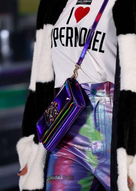 Модные сумки осень 2021 - сияющие модели Dolce Gabbana