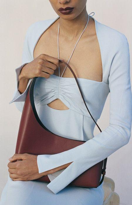 Асимметричная сумка на коротком ремешке Jonathan Simkhai