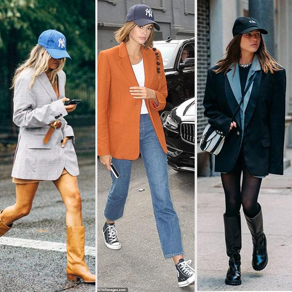 Сочетание: кепка + пиджак