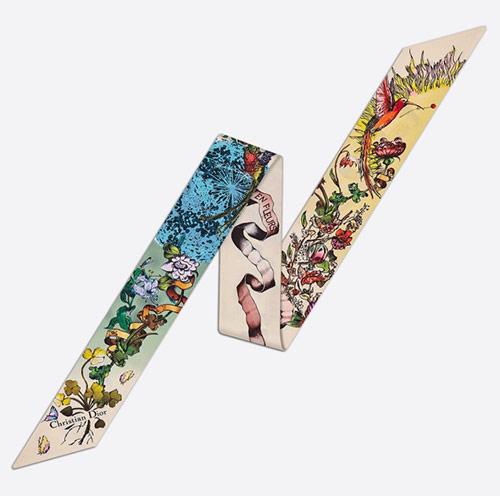 CœUr en Fleur de Dior Mitzah украшен буколическим мотивом