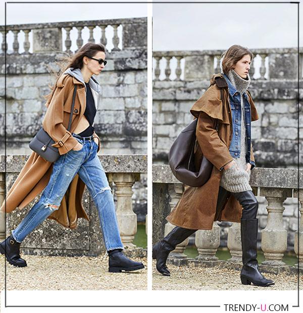 Джинсы и джинсовая куртка Celine осень-зима 2021-2022