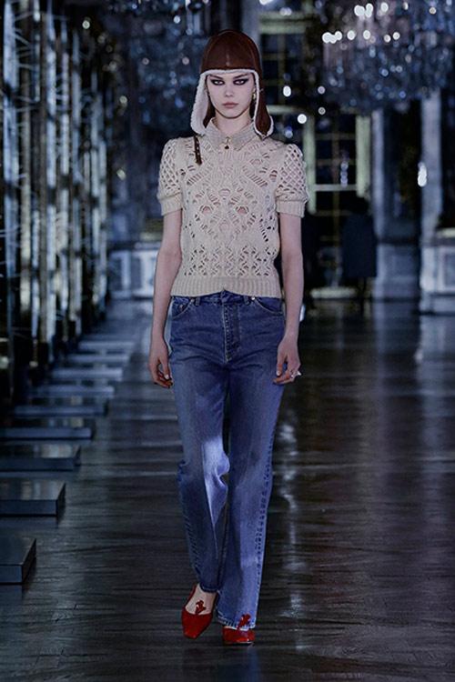 Базовые джинсы Christian Dior FW 2021-2022