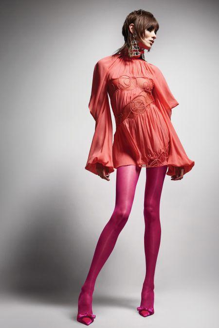Прическа маллет. Коллекция Tom Ford