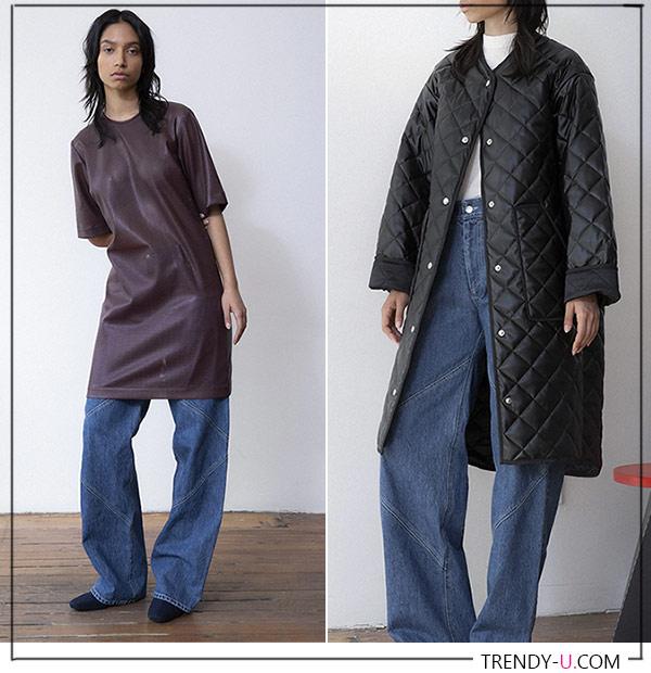 Модные джинсы и образы для осени 2021