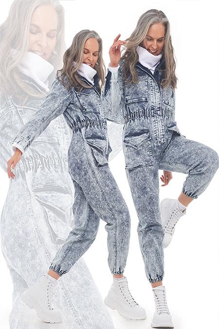 Модные джинсовые комбинезоны для осени 2021