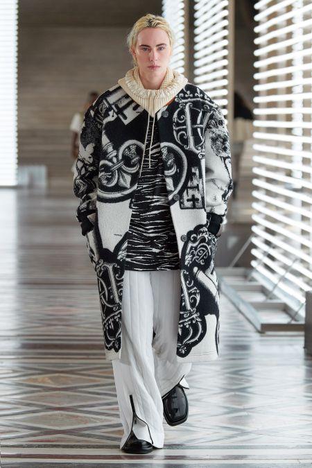 Белые спортивные штаны с молнией Louis Vuitton
