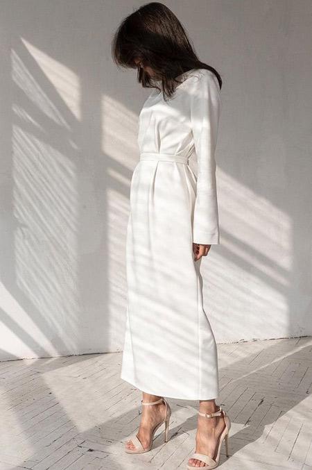Белое платье для любого мероприятия