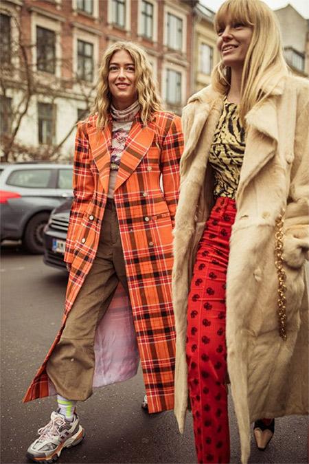 Кроссовки на городской моднице