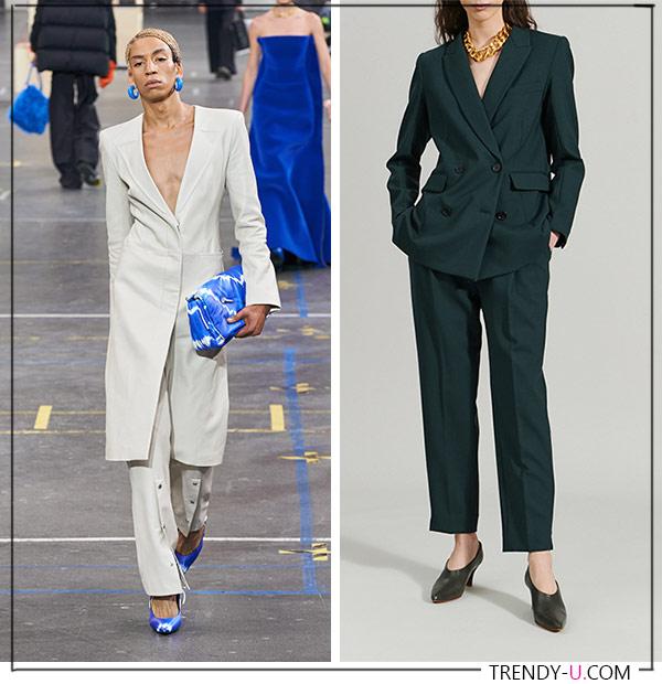 Брючные костюмы Off White и Rachel Comey для модного гардероба 2021-2022