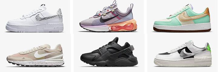 Новые модели кроссовок Nike осень 2021