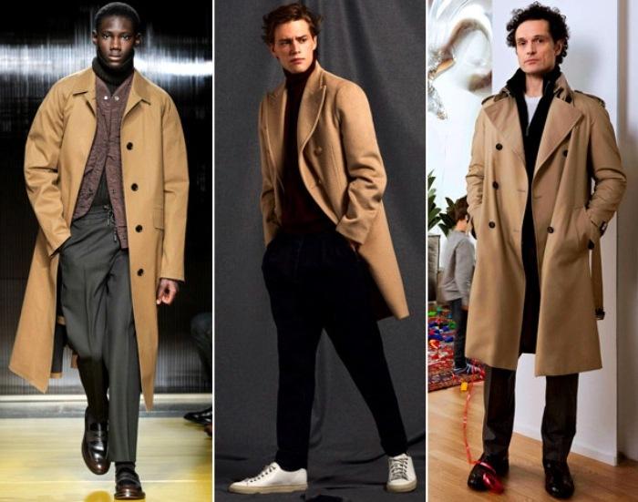 Модные мужские пальто 2021
