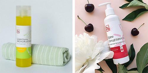 Шампунь для волос и крем для лица PeNa