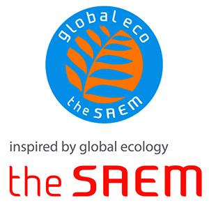 Логотип косметической компании The Saem