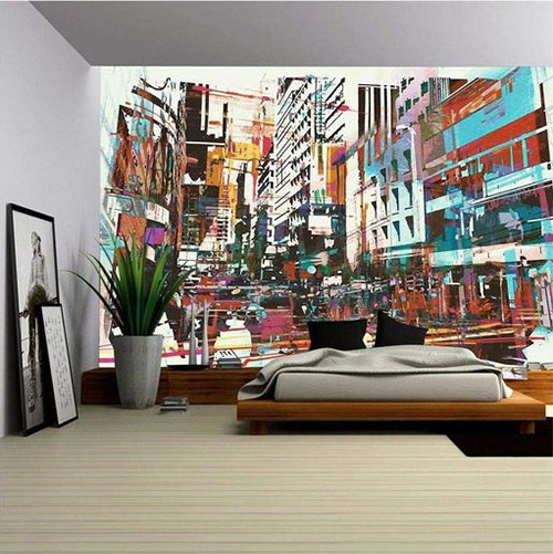 Урбанистический стиль в интерьере
