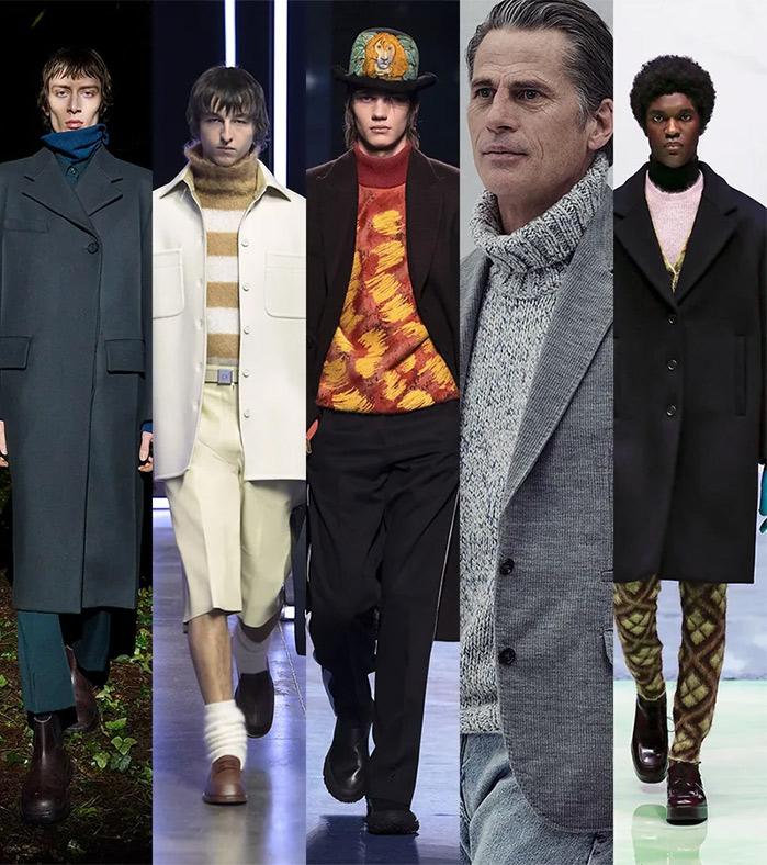 Модные образы для осени 2021: водолазки под пальто или костюмом