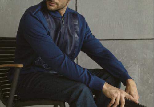 Мужская куртка-бомбер 2021