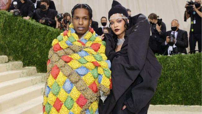 Рианна и A$AP Rocky на ежегодном балу Института костюма