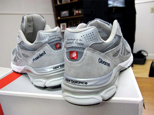Именные кроссовки Барака Обамы new balance 990. Made in USA